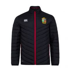 British & Irish Lions Lightweight Padded Jacket - Black - Mens