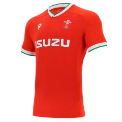 Official Welsh Rugby 2020/21 home shirt